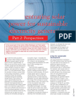 Concentrating Solar Power Part 2
