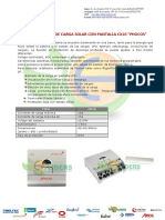 Controlador de Carga CX-10 PHOCOS