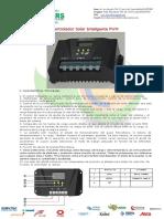 Controlador de Carga Pwm 10-60amp