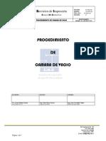 Procedimiento CV