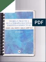 Ellis - Teoría y Práctica de La TREC (Biblio AREAP)
