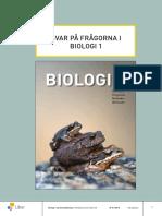 Biologi 1 Facit