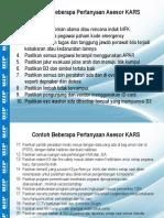 Contoh Pertanyaan Asesor KARS.pptx