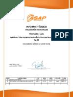 1695 ID 12 ME INF 01 RB Informe Cambio Sujecion Contrapeso CV 07 Lhl
