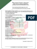Licencia de Construcción de Obra Nº 001