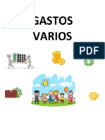 Documentos Pagos Varios