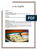 Tamalitos de Chipilín