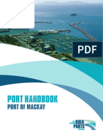 Port of Mackay Port Handbook 11.01.16