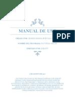 Manual de Uso Sistema Facturas Gratis