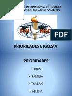 8 Prioridades e Iglesia
