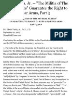 The Militia of the Several States Edwin Vieira, Jr.