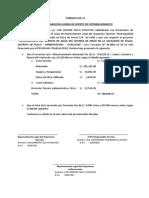Formato OE-21 (DJ de Aporte de Cofinanciamiento)