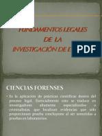 Basamento Legal Investigación Eventos 2009-I