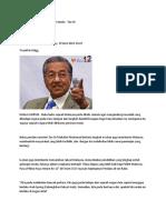 Sejarah Malaysia Perlu Ditulis Semula