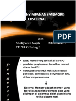 Presentation Memory External