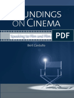 Soundings on Cinema ~ Speaking to Film and Film Artists