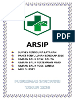ARSIP Cover
