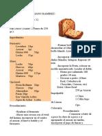 Recetas Panificacion Reposteria, Pasteleria, Bolleria