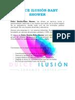 Proformas Baby Showers