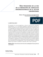 Dialnet-UnaPedagogiaDeLaPazEnLaMediacionDeConflictosOrgani-3015087