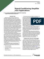 Amplificadores Para Sensores de Presión
