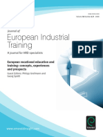 (Journal of European Industrial Training Volume Volume 32 Issue Number 2 3) Philipp Grollmann and Georg Spottl (Editors)-Journal of Euro-libre