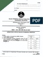 Mpsm Kelantan Trial Exam Paper English 1119 Paper 2 Part 1