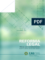 Informativo CAUMG – Reforma Legal
