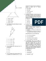 Simulacro Tipo Icfes Matematicas y Física