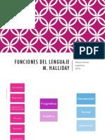 Funciones Del Lenguaje de Halliday