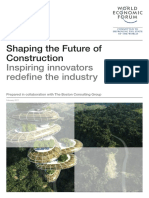 WEF Shaping the Future of Construction Inspiring Innovators Redefine the Industry 2017