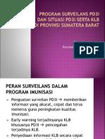 Evaluasisurveilans Pd3i 2015 - 2016