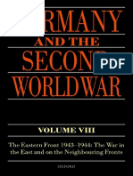 Germany and the Second World War - Volume VIII - The Eastern Front 1943-1944