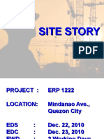 Site Story ERP Arnoc 1222 Mindanao Ave., QC