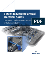 Emerson 3 Steps to Monitor Critical Electrical Assets