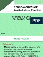 MONEY CLAIM -Conference-Workshop -       CGS.pptx
