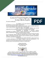 Programa de Cursos de PUESTO SAGRADO