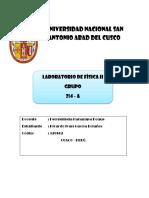 Laboratorio 6 Física II - CIVIL