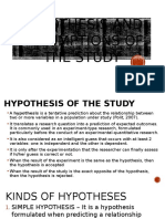 10thweek HYPOTHESIS AND ASSUMPTIONS OF THE STUDY.pptx