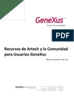 Recursos de Artech y La Comunidad Para Usuarios GeneXus6273252