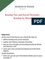 12 Kinship Ties Kinship by Blood