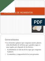 Evaluacion de Yacimientos ( Generalidades)