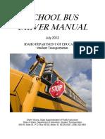 School Bus Driver Manual