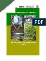 Reforestacion en cuenca cocalera