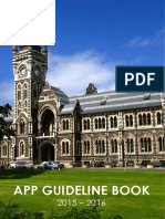 App Guideline Book 2015-16