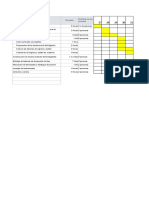 cronograma  biodigestor
