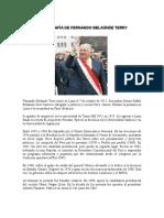 La Biografía de Fernando Belaúnde Terry