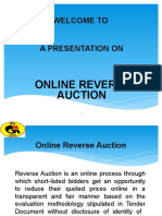 Presentation on Reverse Auctioning in GAIL