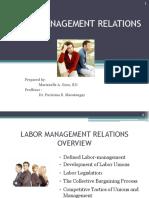 Labor Management Relations Manel