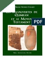 Les Découvertes de Qumran et le Moyen Testaments  Manuscripts de la Mer Morte